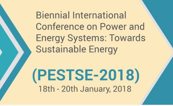 Call for Papers: Amrita School of Engineering's Conference on Power and Energy Systems: [Bangalore, January 18-20, 2018]: Submit by July 30