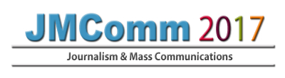 Call for Papers: 6th International Conference on Journalism and Mass Communications [Singapore, Oct 9-10]: Submit by May 8