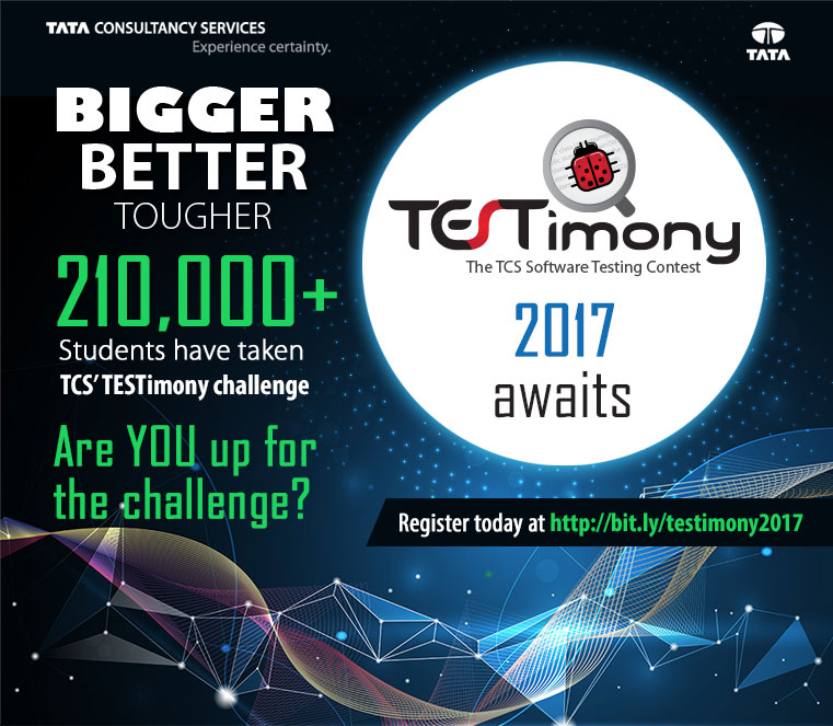 TCS software testing contest