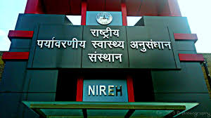 JOB POST: SRF, Technician, Field Worker @ National Institute for Research in Environmental Health, Bhopal: Apply by May 30
