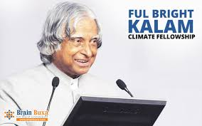 Fulbright-Kalam Doctoral Post-Doctoral Fellowship