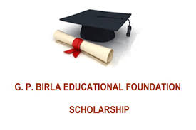 G.P. Birla National Scholarship; Rs. 50,000 each for 65 Students: Apply by July 15