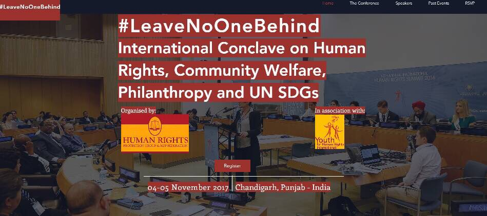 Chandigarh Conclave Human Rights Community Welfare