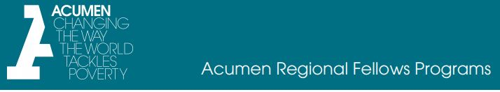 Acumen India Fellowships