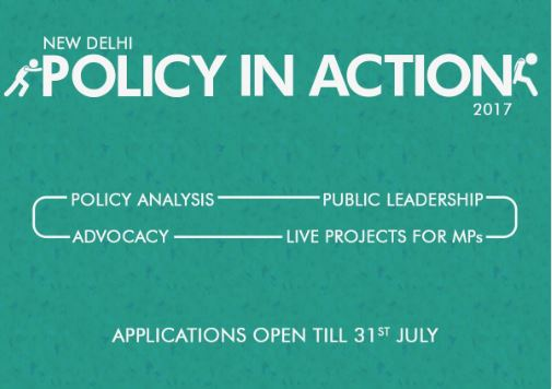 Young Leaders for Active Citizenship's Policy in Action Program [Delhi, Aug 12-Sep 10]: Apply by July 31