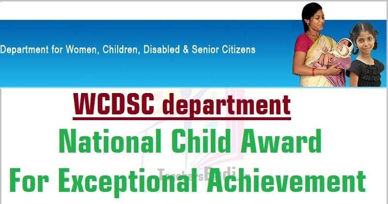 National Child Exceptional Achievement Award