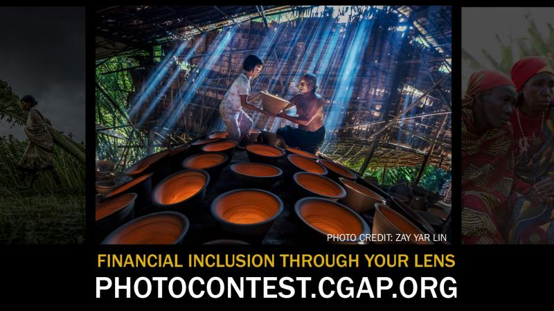 CGAP Photo Contest; Prizes Worth Rs. 2.5 Lakhs: Submit by Sep 29: Expired
