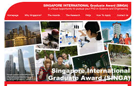 Singapore International Graduate Award for PhD in Science & Engineering; Stipend of Rs. 11 Lakhs/Year: Apply by Jan 1: Expired
