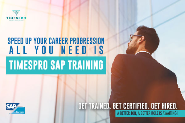Admission Open: TimesPro SAP Training: Applications Open