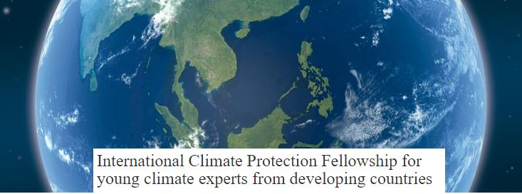 Climate protection fellowship Germany