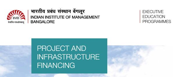 IIMB Project infrastructure finance
