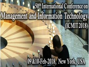Call for Papers: International Conference on Management and IT [Feb 9-10, New York]: Submit by Jan 5