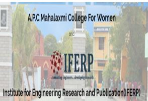 Call for Papers: Conference on Recent Advancements in IT, Sciences and Engg @ A.P.C Mahalaxmi College, Tamilnadu [December 14-15]: Submit by Nov 22