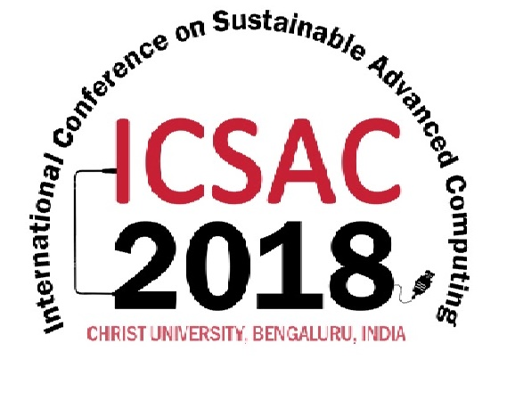 Call for Papers: International Conference on Sustainable Advance Computing @ Christ University, Bangalore [March 2-3]: Submit by Dec 10