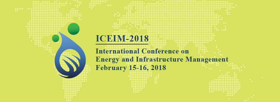 CFP: International Conference on Energy and Infrastructure Management [Feb 15-16, Gandhinagar]: Submit by Dec 20