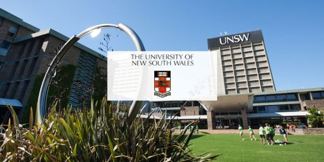 University of New South Wales Sydney's International Research Scholarships: Apply by Feb 2: Expired