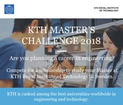 kth masters challenge scholarships