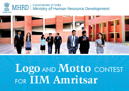 IIM Amritsar Logo & Motto Design Competition by MyGov [Prizes Worth Rs 1.75 Lakh]: Submit by Jan 18