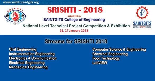 Saintgits College Engineering Exhibition Competition Srishti 2018