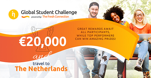 Global Student Challenge on Supply Chain Management by The Fresh Connection [Prizes Worth Rs. 15L]: Register by Dec 31