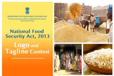 Logo with Tagline Contest for National Food Security Act by Dept. of Food & Public Distribution [Prizes Worth Rs.25K]: Submit by Jan 18