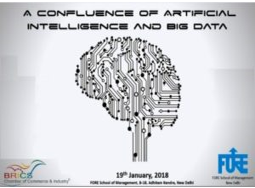 Conclave on Artificial Intelligence and Big Data @ FORE School of Management, Delhi [Jan 19]: Registrations Open