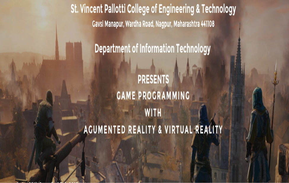 St.Vincent Palloti Nagpur Workshop Game programming