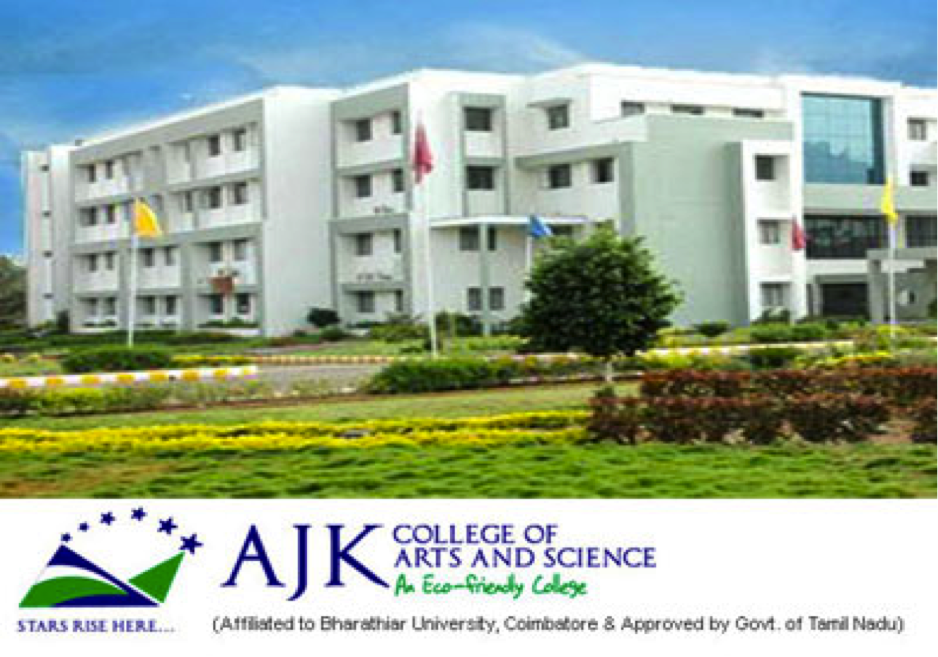 AJK College Coimbatore Emerging trends science conference
