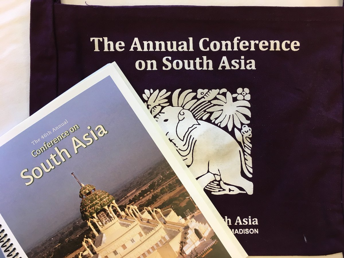 CFP: 47th Annual Conference on South Asia @ The University of Wisconsin [Madison, OCT 11-14]: Multiple Deadlines