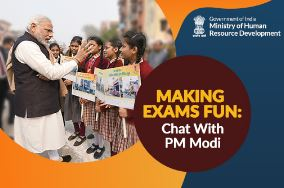 Making Exams Fun: Interactive Q&A Session with PM Narendra Modi for Students [Feb 16, Delhi]: Submit by Feb 12