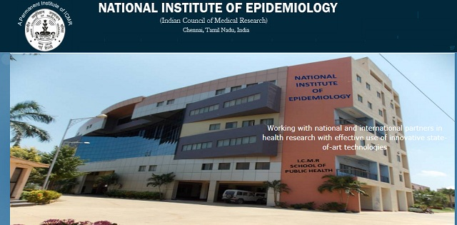 Job Post: Field Officers (ANM), Project Assistants @ National Institute of Epidemiology, Chennai: Apply by Feb 14: Expired