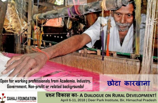प्रश्न विकास का- Dialogue on Rural Development for Working Professionals [April 6-11, Himachal Pradesh]: Applications Open