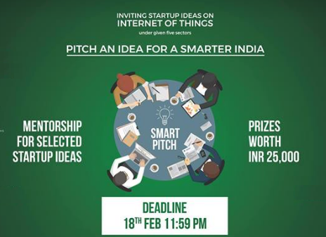 SmartPitch 2018: Flagship Event of Aaakar, IIT Bombay [Prizes Worth Rs. 25K]: Register by Feb 18