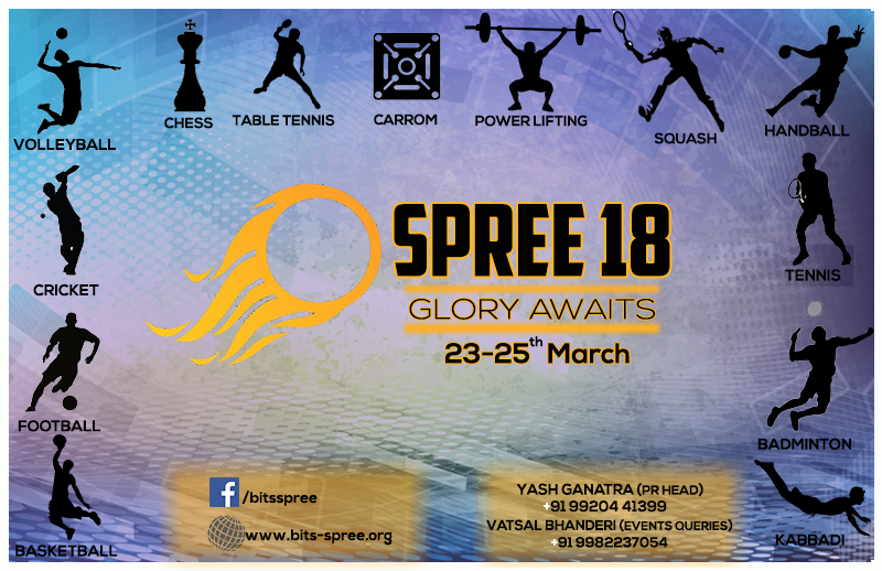 Spree Sports Fest BITS Pilani Goa