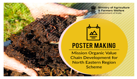 Ministry of Agriculture Poster Making Competition for North Eastern Region [Prizes Worth Rs. 30K]: Submit by Apr 5