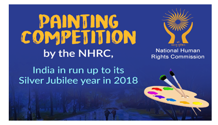 National Human Rights Commission Painting Contest [Prizes Worth Rs.52.5K]: Submit by Apr 30