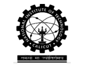 Summer Internship 2018 for BE/B.Tech/M.Tech./ ME/ M.Sc./MBA @ NIT Calicut, Kerala in [May 11-June 29]: Apply by April 13: Expired
