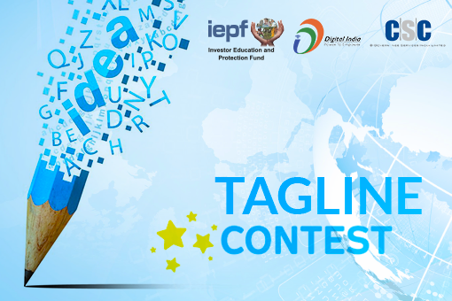 Investor Education Protection Fund Tagline Creation Contest