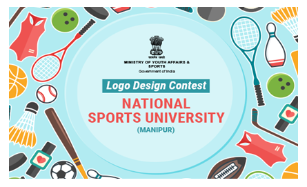 Logo Designing Contest for National Sports University, Manipur [Prizes Worth Rs. 50K]: Submit by Apr 23: Expired