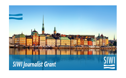 SIWI Journalist Grant 2018