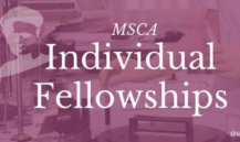 Marie Skłodowska-Curie European & Global Fellowships for Research in STEM [Grant + Allowance Worth Rs. 4.6L]: Apply by Sep 12