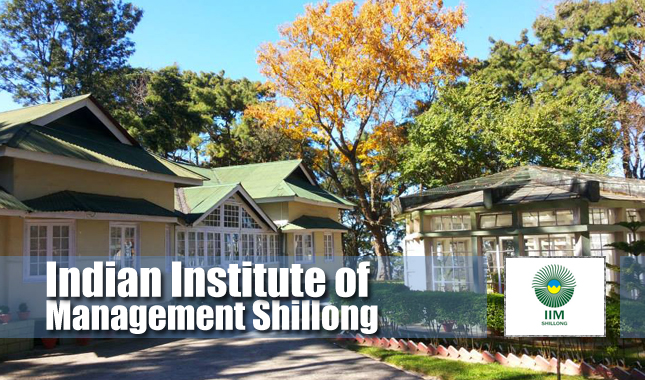 IIM Shillong PG Programme Executives