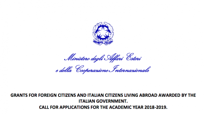 MHRD's Italian Government Scholarship 2018-19: Apply by Apr 30: Expired