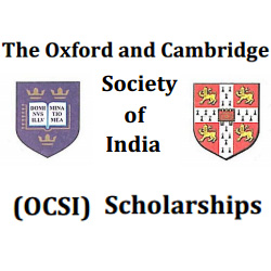 Oxford Cambridge Society India Scholarships