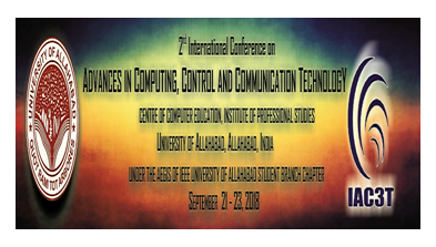 CfP: International Conference on Advances in Computing, Control & Communication Technology @ University of Allahabad [Sep 21-23]