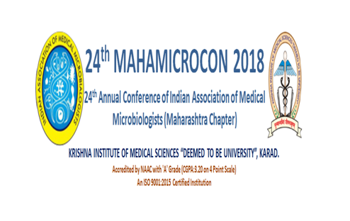 CfP: 24th Mahamicrocon Conference of Medical Microbiologists [Sep 28-30, KIMS Karad]: Submit by Jul 31