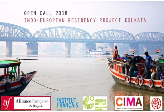Indo-European Residency Project 2018 in Art [Oct 24-Dec 16, Kolkata]: Rs. 1 Lakh Scholarship; Apply by Aug 19
