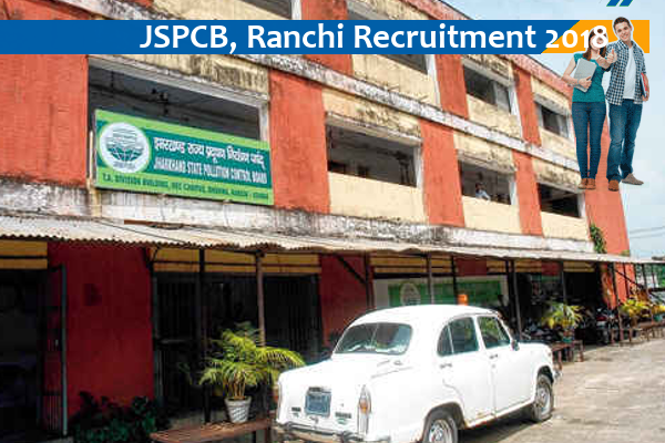 JOB POST: M.Sc with NET or B.Tech with GATE @ Jharkhand State Pollution Control Board [Ranchi]: Apply by Jun 15
