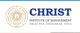 christ institute of management MBA internship contest