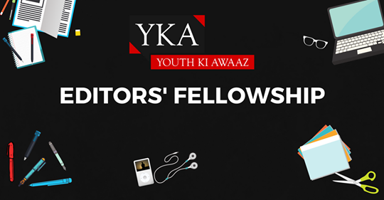 Youth Ki Awaaz Editor's Fellowship, Noida [6 Months, Stipend Rs. 12K/Month]: Apply by June 10